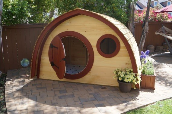 Kids Outdoor Playhouse - For Promoting The Creative Side Of Your Kids